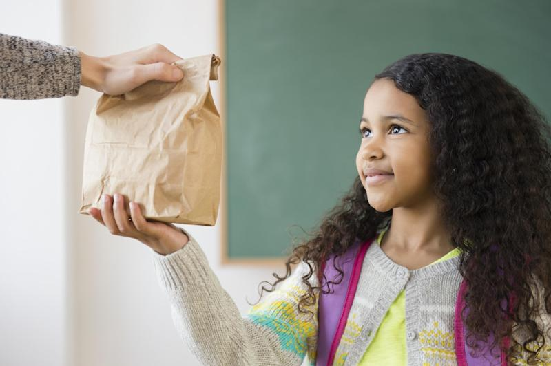 Fifty-nine percent of teachers said they regularly buy food for students who don't get enough to eat at home. (JGI/Jamie Grill via Getty Images)