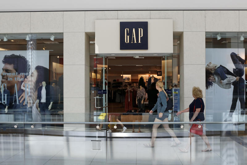 This is the sign a Gap store in Pittsburgh Monday, Aug. 31, 2017. (AP Photo/Gene J. Puskar)