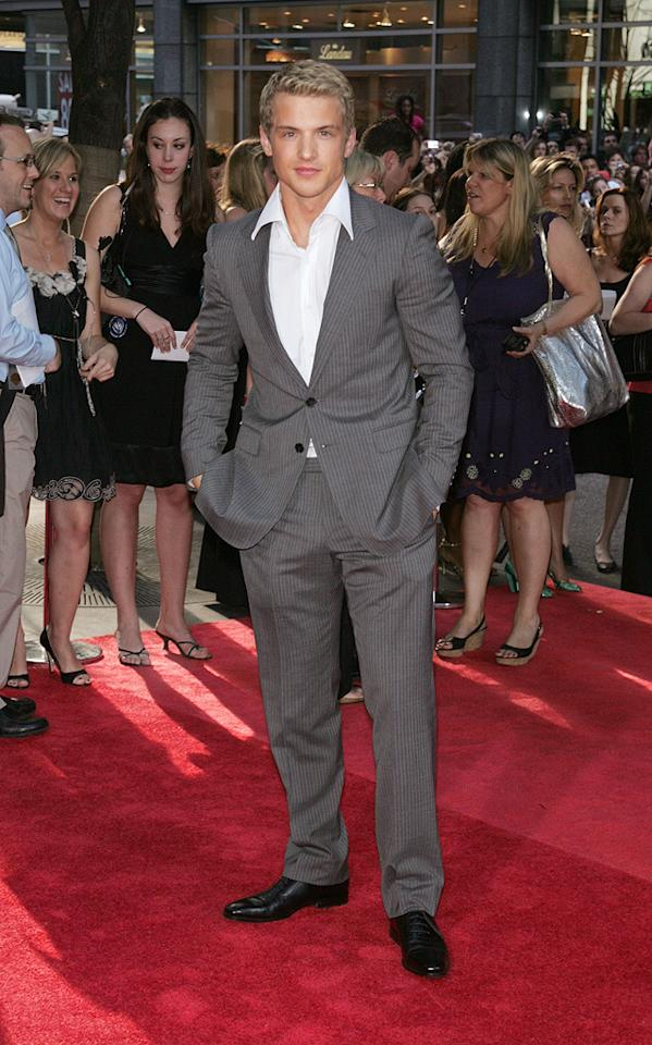 """Freddie Stroma at the New York premiere of <a href=""""http://movies.yahoo.com/movie/1809791044/info"""">Harry Potter and the Half-Blood Prince</a> - 07/09/2009"""