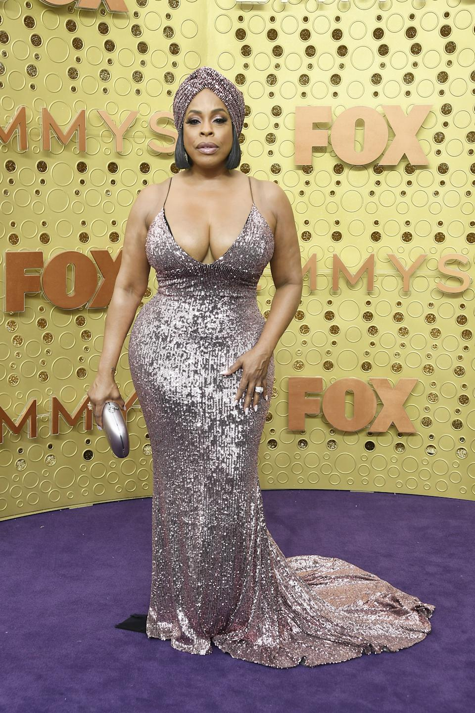 """<h1 class=""""title"""">Niecy Nash in Christian Siriano</h1><cite class=""""credit"""">Photo: Getty Images</cite>"""