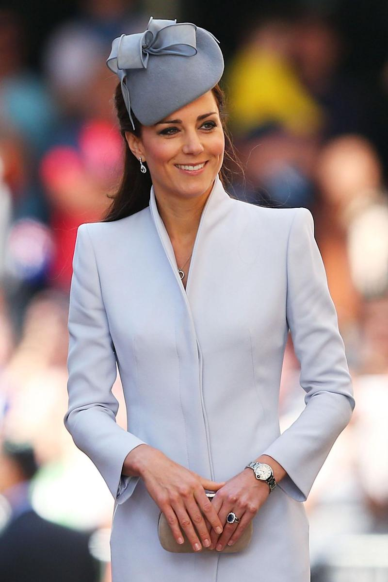 Kate Middleton has been admitted to hospital to give birth to her third child. Photo: Getty Images
