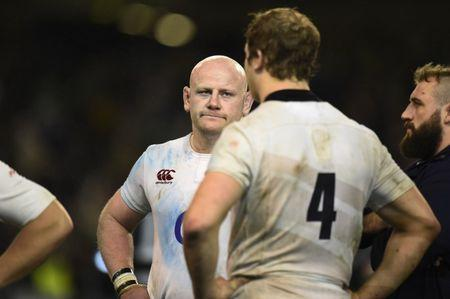 Rugby Union - Ireland v England - Six Nations Championship - Aviva Stadium, Dublin, Republic of Ireland - 18/3/17 England's Dan Cole looks dejected at the end of the match Reuters / Clodagh Kilcoyne Livepic