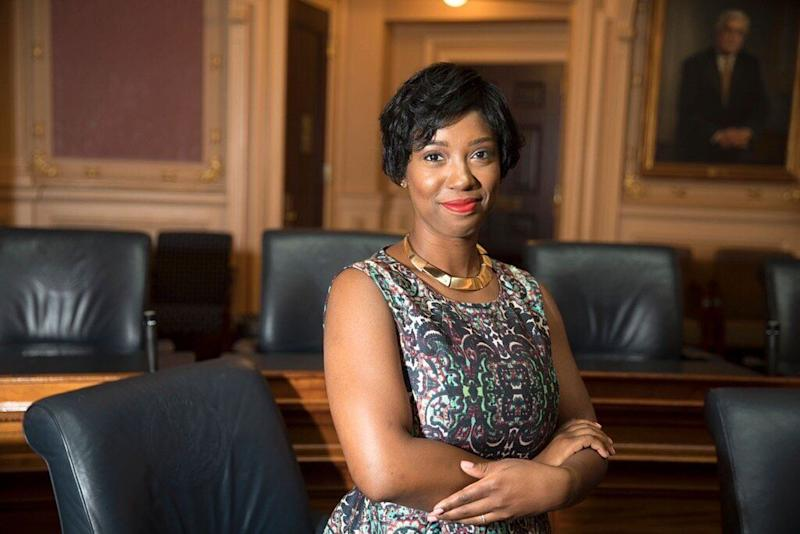 If elected, Virginia Del. Lashrecse Aird (D) would be the state's first female speaker of the House and the first Black person to lead the legislative body. (Photo: Virginia Del. Lashrecse Aird (D))