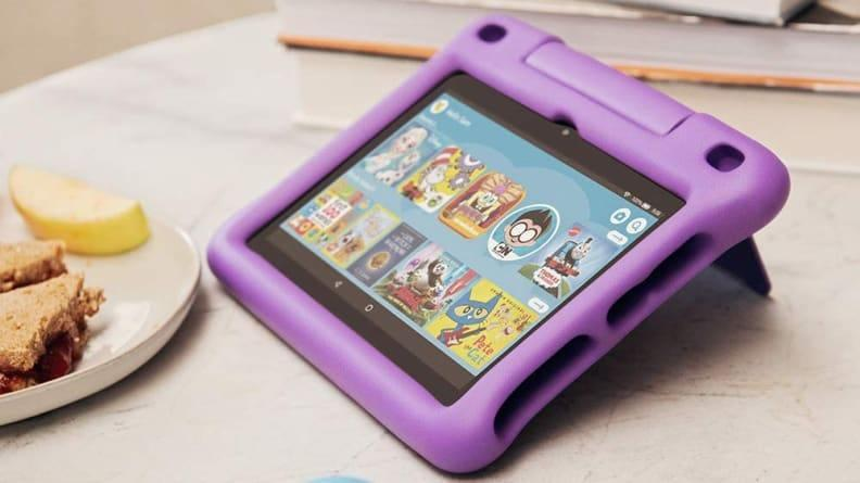 The Amazon Fire HD 8 Kids edition is durable and easy to use.