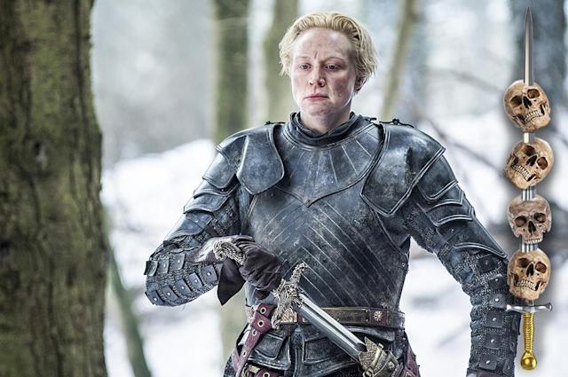 <p>Having honor and loyalty is a sure way to get you killed in Westeros. Once she strangles the Red Woman with her bare hands for what happened to Renly Baratheon, Brienne doesn't have much to live for. As much as we'd love to see her go off and make tiny (OK, huge, hairy babies) with Tormund, it's much more likely that she'll die trying to protect an unappreciative Sansa.<br><br>(Photo Credit: HBO) </p>