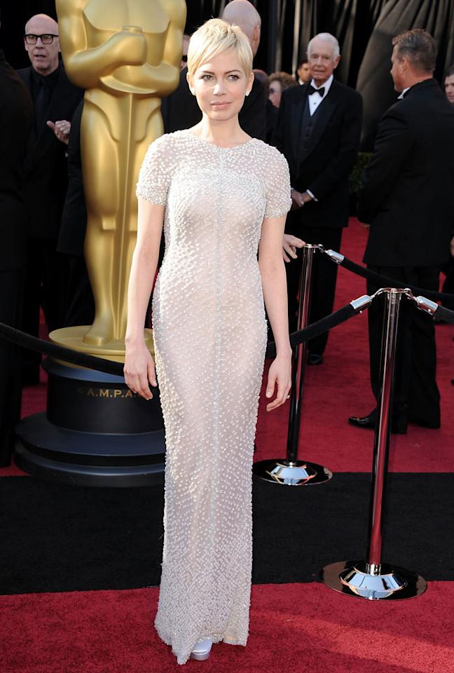 Michelle Williams arrives at the 83rd Academy Awards at the Kodak Theatre in Hollywood, CA.