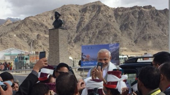 PM Modi will unveil a plaque to mark the commencement of work on the Zojila Tunnel, India's longest road tunnel and Asia's longest bi-directional tunnel.