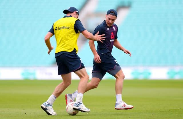 Burns was injured playing football before the second Test against South Africa (Bradley Collyer/PA)