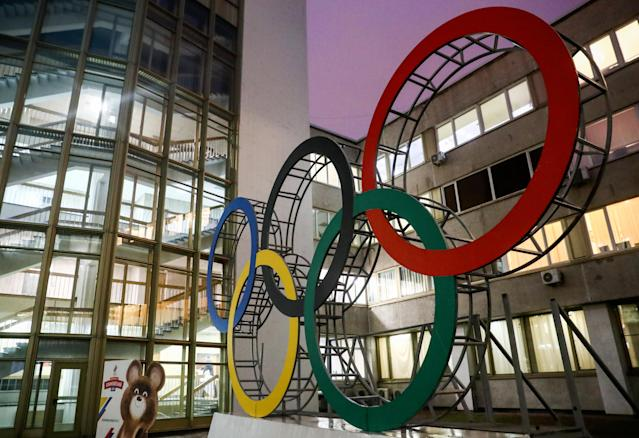 Russian Olympic Committee headquarters (Credit: Getty Images)