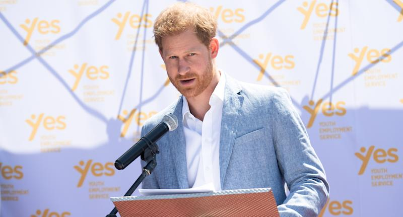 Prince Harry, Duke of Sussex. (Photo by Pool/Samir Hussein/WireImage)