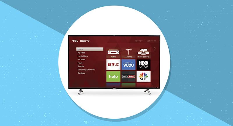 TCL 43-Inch 1080p Roku Smart LED TV is on sale at Amazon