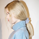 "<a href=""https://www.glamour.com/story/mansur-gavriel-scrunchies?mbid=synd_yahoo_rss"" rel=""nofollow noopener"" target=""_blank"" data-ylk=""slk:The scrunchie is back"" class=""link rapid-noclick-resp"">The scrunchie is back</a> with a vengeance that would make Berger proud. Look for one in denim, shirting-patterns, or velvet and wear them low and loose."
