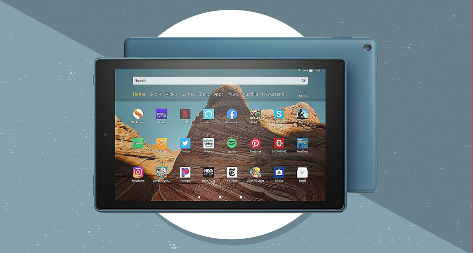 This tablet comes in a slew of different colors. (Photo: Amazon)