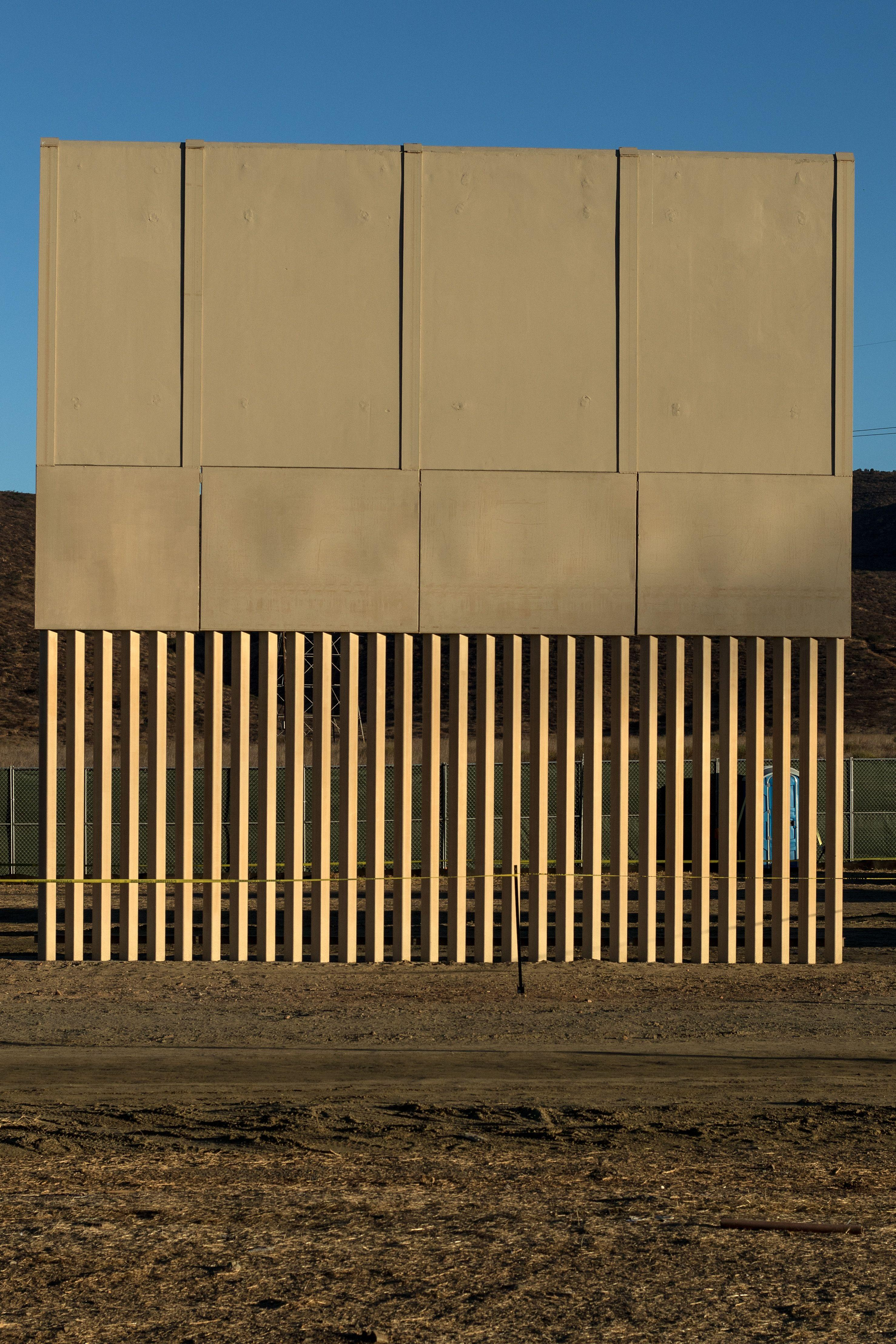 Each prototype wall costs up to £370,000 (Picture: Getty)