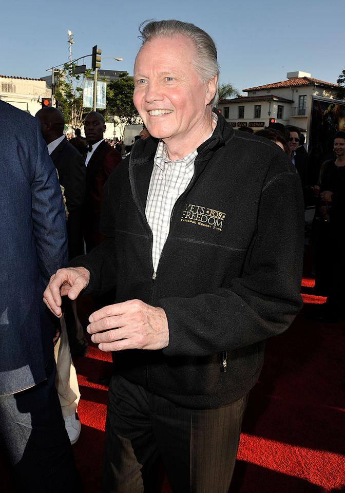 """<a href=""""http://movies.yahoo.com/movie/contributor/1800018586"""">Jon Voight</a> at the Los Angeles premiere of <a href=""""http://movies.yahoo.com/movie/1809943432/info"""">Transformers: Revenge of the Fallen</a> - 06/22/2009"""