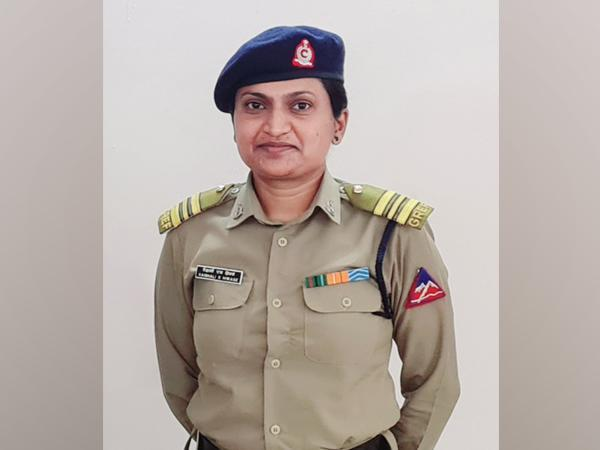 BRO Officer Commanding, Vaishali S Hiwase (Photo/ANI)