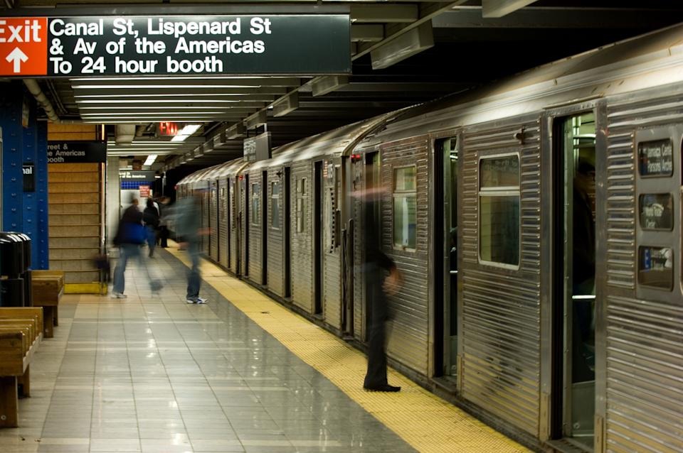 Canal Street station in the New York City subway system. (Photo: Tashka via Getty Images)