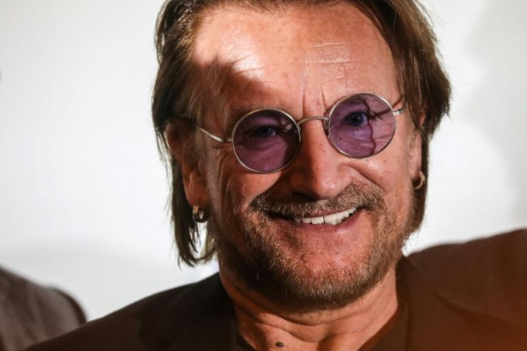 Viral hit: Bono has written his first song in three years, inspired by the reaction of Italians to the epidemic