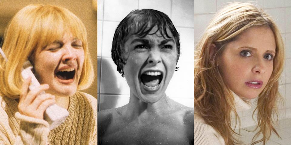 """<p>If you're looking for a movie to bring the chills in a serious way, you need to start with the classics. Yes, there are some amazing modern <a href=""""https://www.marieclaire.com/culture/g30446479/best-horror-movies-2020/"""" rel=""""nofollow noopener"""" target=""""_blank"""" data-ylk=""""slk:horror movies,"""" class=""""link rapid-noclick-resp"""">horror movies,</a> but there's something about the staying power of the classics and their ability to scare generation after generation, <em>without</em> fancy CGI monsters. Which isn't to say that there aren't also some modern horror movies that have become instant classics, too. Over the years, our collective definition of <a href=""""https://www.marieclaire.com/culture/g23459988/best-horror-movies-on-netflix/"""" rel=""""nofollow noopener"""" target=""""_blank"""" data-ylk=""""slk:horror movies"""" class=""""link rapid-noclick-resp"""">horror movies</a> has changed and evolved, from the old school Universal creature features to modern social and psychological horror movies like Jordan Peele's <em>Get Out</em>. If you consider yourself a true aficionado of all things horror, you'll appreciate everything the genre has to offer. </p><p>Whether you're looking for classic monster movies like <em>The Bride of Frankenstein</em>, iconic slashers like <em>Friday </em><em>the 13th</em> and <em>Halloween</em>, sci-fi scares like <em>Alien</em> and <em>Invasion of the Body Snatchers</em>, or hilarious meta horror movies like <em>Scream</em> and <em>Cabin in the Woods</em>, we have you covered. Here are some of the most classic horror movies of all time that any self-respecting scary movie buff <em>needs</em> to see. </p>"""
