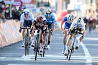 Pogacar beats Alaphilippe to the Liege-Bastogne-Liege finish line
