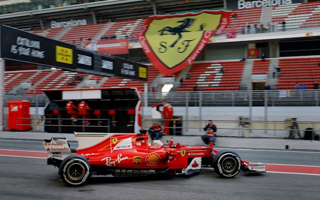 <span>Vettel endured a difficult season in 2016</span> <span>Credit: AP </span>