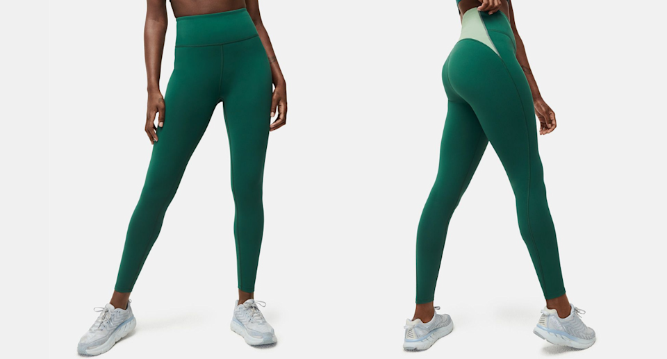 Outdoor Voices' FrostKnit 7/8 Leggings are your new go-to's for winter. Images via Outdoor Voices.
