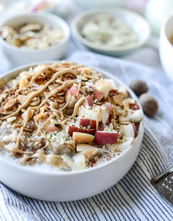 apple cinnamon overnight oats