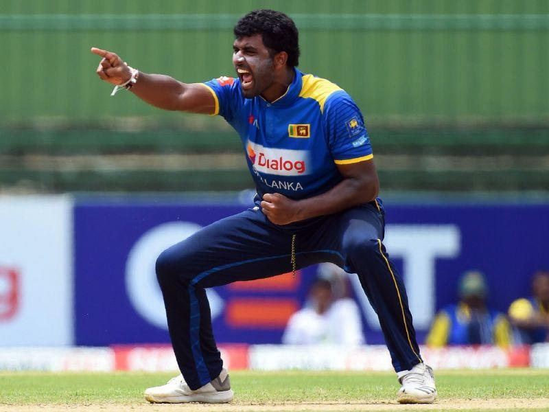 Perera picked up 25 wickets in ODIs 2018