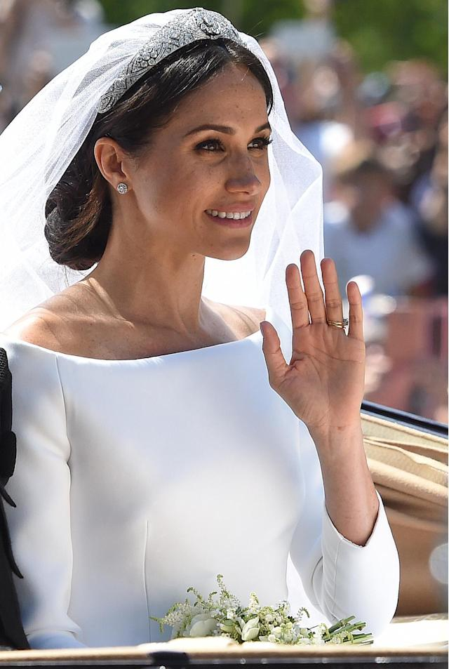 Markle became the Duchess of Sussex on May 19. (Photo: Getty Images)