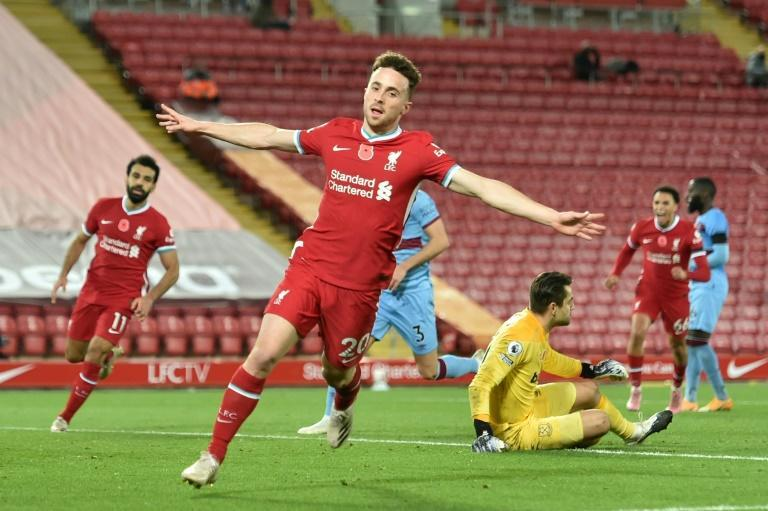 Diogo Jota came off the bench to score the winner as Liverpool beat West Ham 2-1