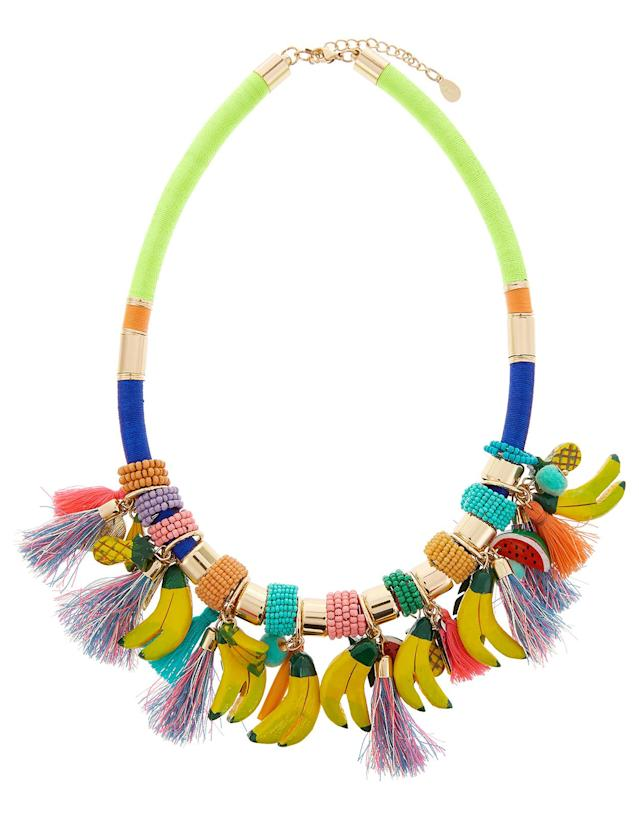 "<p>Accessorize Tropical Fruit Statement Necklace, $48.50, <a href=""https://www.polyvore.com/accessorize_tropical_fruit_statement_necklace/thing?id=209690918"" rel=""nofollow noopener"" target=""_blank"" data-ylk=""slk:accessorize.com"" class=""link rapid-noclick-resp"">accessorize.com</a><br><br></p>"