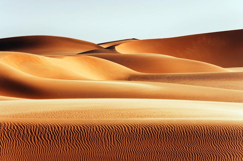 Here's what would happen if the Sahara was covered in solar and wind farms