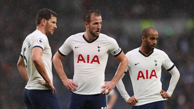 Tottenham head coach Jose Mourinho continues to bemoan the team's defensive errors, offering his sympathy to his Spurs strikers.