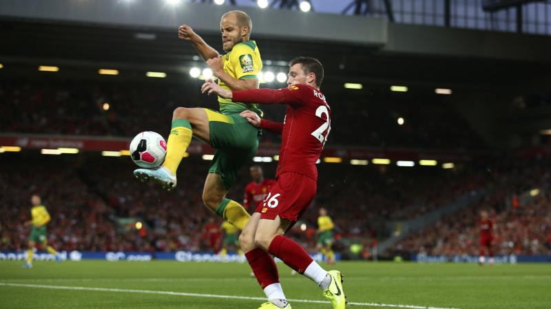 Norwich City-Liverpool live stream: How to watch EPL game online, on TV