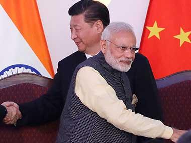 File image of Narendra Modi and Xi Jinping. AP
