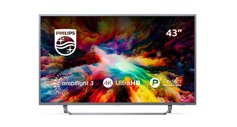 Purchase the Philips 43PUS7303/12 43-Inch 4K Ultra HD Android Smart TV for £394.99.
