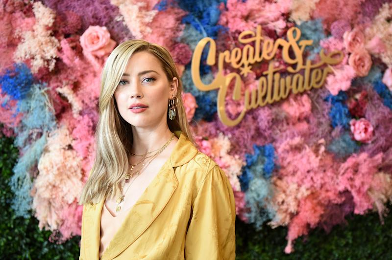 Amber Heard at the Create & Cultivate New York conference held Saturday in Brooklyn. (Ilya S. Savenok via Getty Images)