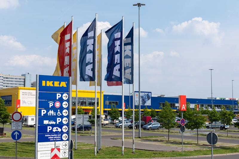Berlin, Germany- May 24, 2019: IKEA Berlin Store, IKEA is a Swedish-founded multinational group that designs and sells ready-to-assemble furniture