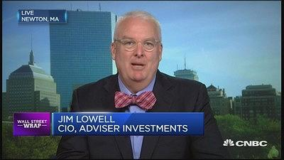 With solid fundamentals reflected in the U.S. economy, a pullback in markets will be a buying opportunity, says Jim Lowell, Adviser Investments.