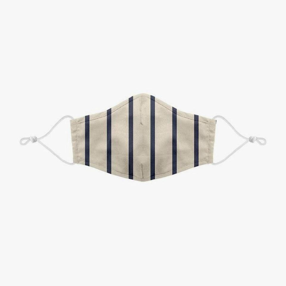 """$12, SOLID & STRIPED. <a href=""""https://www.solidandstriped.com/collections/masks/products/face-mask-classic-breton"""" rel=""""nofollow noopener"""" target=""""_blank"""" data-ylk=""""slk:Get it now!"""" class=""""link rapid-noclick-resp"""">Get it now!</a>"""