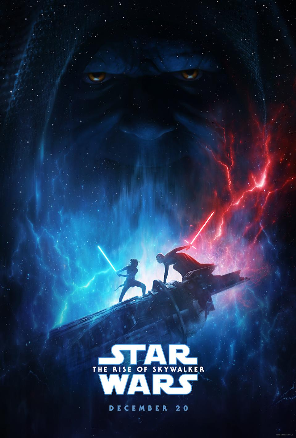Star Wars: The Rise of Skywalker poster (Credit: DIsney)