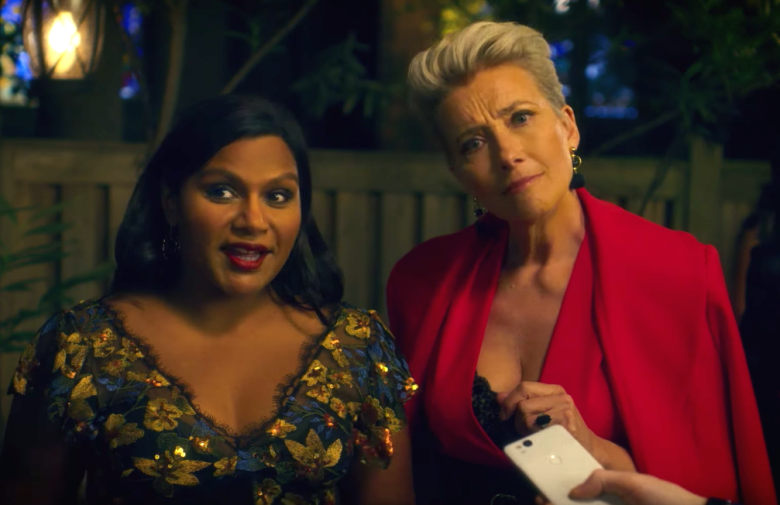 Mindy Kaling and Emma Thompson in Late Night (Credit: Amazon)
