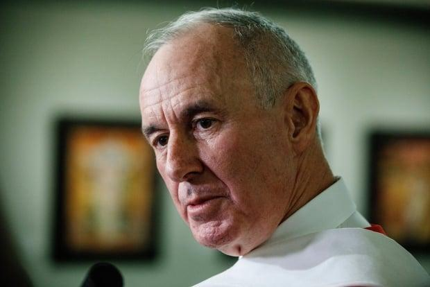 Sports broadcaster Ron MacLean is being criticized for a comment he made during Tuesday night's Toronto-Montreal NHL playoff game. (Jason Franson/The Canadian Press - image credit)