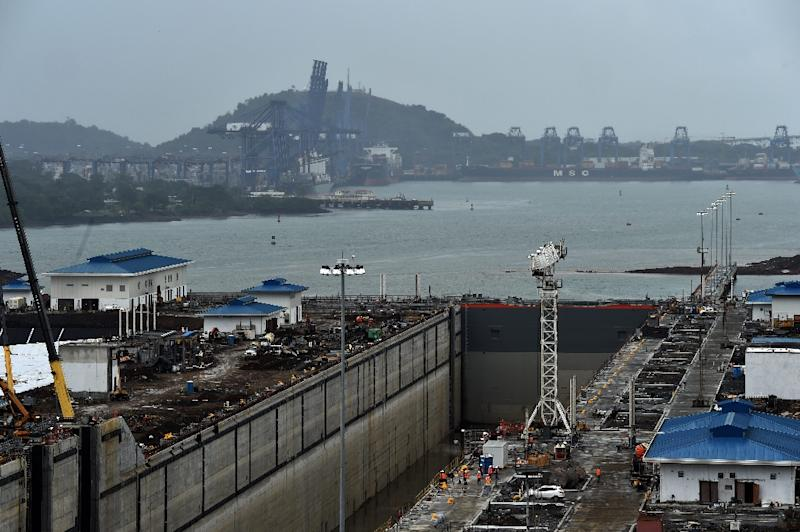 The expansion work on the century-old Panama Canal was due to be completed in October 2014 but has now been pushed back to an April 2016 deadline