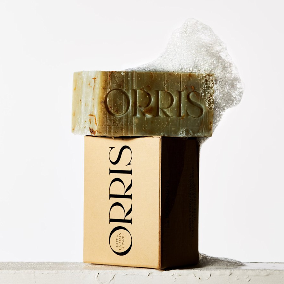"""Orris Paris handcrafts the most beautiful soaps that deeply cleanse while leaving skin supple and soft. Using plant derived ingredients and rich butters like shea and cocoa, the soaps are cold-pressed by hand in small batches so there's no concern about quality control. I've been loving Le Botaniste, which works into a creamy lather that wakes me up in the morning with its blend of peppermint and patchouli and preps my skin for a long day ahead. – <em>M.O.</em> $20, Orris Paris. <a href=""""https://orrisparis.com/products/le-botaniste"""" rel=""""nofollow noopener"""" target=""""_blank"""" data-ylk=""""slk:Get it now!"""" class=""""link rapid-noclick-resp"""">Get it now!</a>"""
