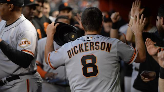 Alex Dickerson has been on fire as of late. Can he continue his D-backs domination?