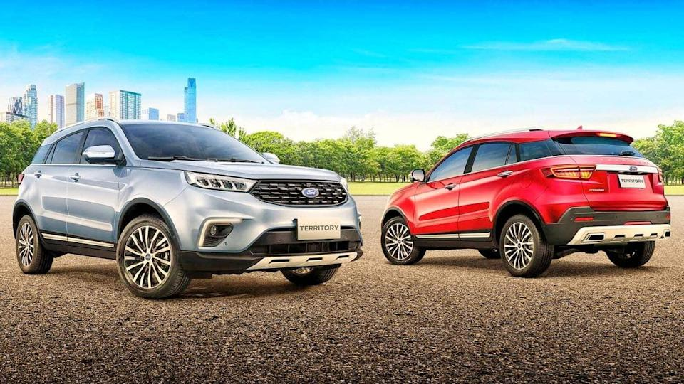 2021 Ford Territory could debut in India later this year