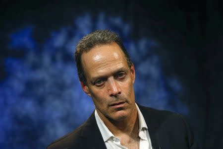 Sebastian Junger, director of the Oscar-nominated war documentary Restrepo and its upcoming sequel Korengal, sits for a portrait in New York