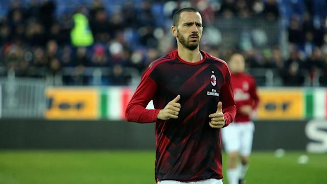 <p>Bonucci made the surprise switch from Juventus to Milan in the summer in a deal worth a reported £35m. Since his move to San Siro, the 30-year-old has played over 2600 minutes for the 7th-placed Serie A side. </p> <br><p>Veteran Bonucci didn't start in Milan's last game against Ludogorets but his experience will be invaluable to a team which boasts a number of youthful players. </p>