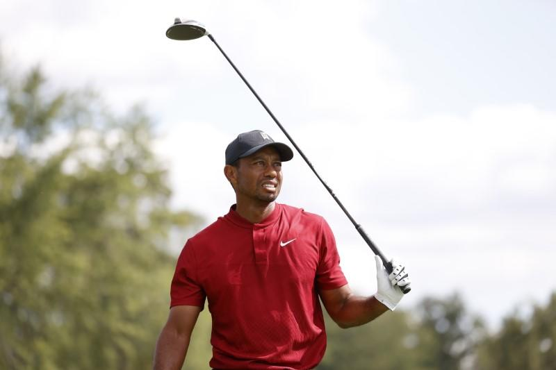 Woods aims to 'clean up' rounds ahead of U.S. Open